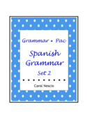 Grammar * Pac For Spanish Class Set 2 ~ Spanish Distance Learning