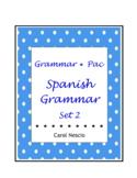 Grammar * Pac For Spanish Class Set 2
