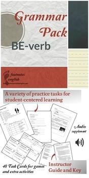 Grammar Pack BE-verb - Adult ESL