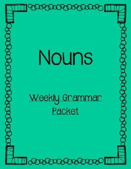 Grammar Packet- Nouns