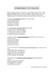Grammar Packet: Prepositions Explanation and Practice