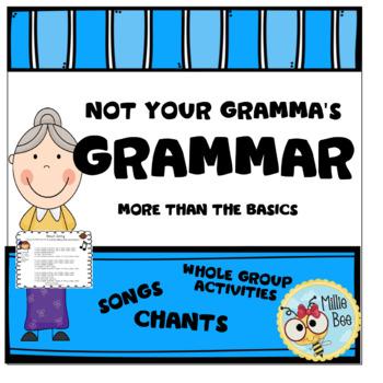 2nd Grade Grammar, nouns, punctuation, irregular verbs, commas, homophones
