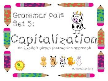 Grammar Pals 5:  Capitalization