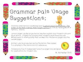 Grammar Pals 4:  Types of Sentences