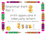 Grammar Pals #1 - ABC identification, practice, and writing