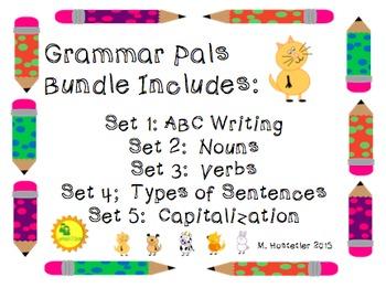 Grammar Pals Bundle (Included Grammar Pals 1, 2, 3, 4, & 5)