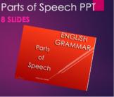 Grammar - Parts of Speech PPT