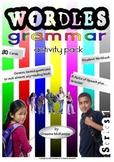 Grammar (Parts of Speech) Activity Cards:Wordles Grammar Series 1