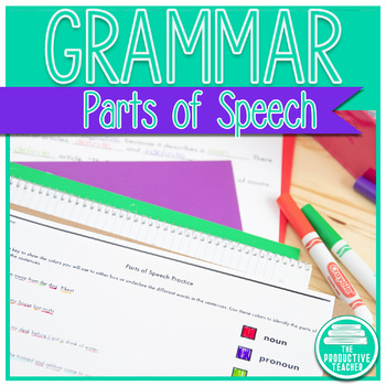Grammar: Parts of Speech Overview