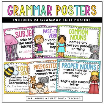 Grammar/Parts of Speech Posters