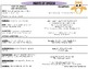 Grammar (Parts of Speech) Task Cards & Resource Sheet: COM