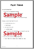 Grammar - Past Tense