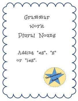 Grammar-Plural Nouns