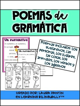 Grammar Poems in Spanish