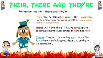 Grammar Police! A display correcting common mistakes