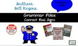 Grammar Police Homophone Edition Bell Ringer PowerPoint