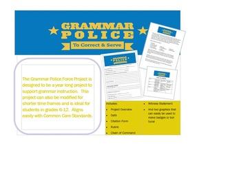 Grammar Police Project
