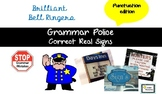 Grammar Police Punctuation Edition Bell Ringer Powerpoint