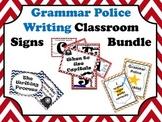 Grammar Police Writing Classroom set 49 pgs