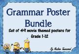 Grammar Poster Bundle - Movie Themed