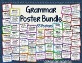 Grammar Poster Bundle: Set of 62 Posters for Grades 4-8 *E