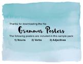 Grammar Poster Pack_Sample
