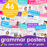 Grammar Posters (Includes 46 posters in language, punctuation and grammar)