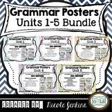 Grammar Posters Reading Street BUNDLE Units 1-5 (2011)