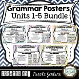 Grammar Posters Reading Street BUNDLE Units 1-5 (2011)
