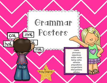 Grammar Posters, Bookmarks & Small Anchor Charts