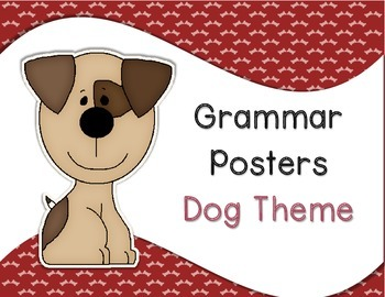 Grammar Posters Dog Theme