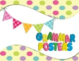 Grammar Posters Pastel Confetti