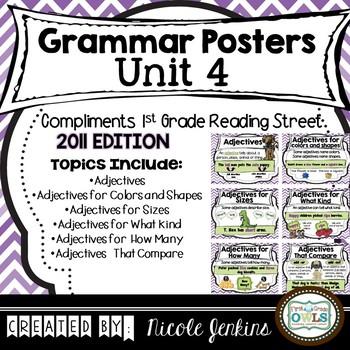 Grammar Posters Reading Street Unit 4 - 2011 Version