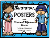 Grammar Posters and Personal Reference Cards ~ Over 90 Gra