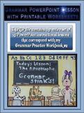 Grammar PowerPoints & Handouts - Complete Set of PPT Lessons for Grammar Wkbk #2