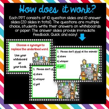 Grammar PowerPoint Quiz Bundle