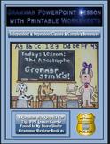 Grammar PowerPoint & Handouts - Indep. & Dependent Clauses