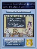Grammar PowerPoint & Handouts - Possessive & Reflexive Pronouns