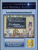 Grammar PowerPoint & Handouts - Singular & Plural Possessive Nouns