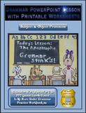 Grammar PowerPoint & Handouts - Subject & Object Pronouns