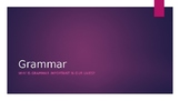 Grammar Powerpoint - Funny!