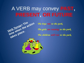 Grammar Powerpoint Presentation--Verbs