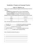 Grammar Practice 9A Realidades I