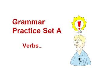 Grammar Practice A-Verbs