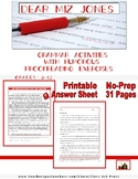 Grammar Practice: Dear Miz Jones: Funny Proofreading Exercises