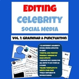 Grammar Practice: Edit Celebrity Social Media Updates