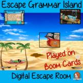 Grammar Practice Escape Room Boom Cards