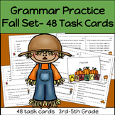 Grammar Practice FALL Set   3rd-5th Grade