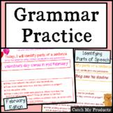 Grammar Practice for February