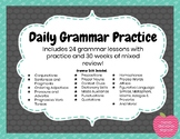 Grammar Practice- Grammar Lessons and Weekly Practice
